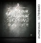 do your christmas shopping... | Shutterstock .eps vector #117848683
