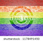 tributary on mosaic background... | Shutterstock .eps vector #1178491450