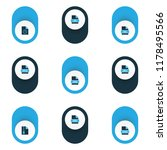 types icons colored set with... | Shutterstock .eps vector #1178495566