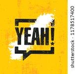 yeah  inspiring creative...   Shutterstock .eps vector #1178517400