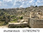 view on cave town matera | Shutterstock . vector #1178529673