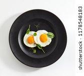 elegant restaurant plate of... | Shutterstock . vector #1178548183