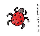 cartoon ladybug | Shutterstock .eps vector #117856129