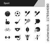 sport icons. design for...