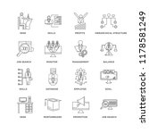 set of 16 simple line icons... | Shutterstock .eps vector #1178581249