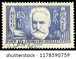 paris  france   1936  victor... | Shutterstock . vector #1178590759