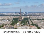 sight of center of paris with... | Shutterstock . vector #1178597329