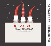 christmas card  seasons... | Shutterstock .eps vector #1178598760