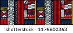 tribal vector ornament.... | Shutterstock .eps vector #1178602363