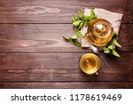tea in a transparent cup and... | Shutterstock . vector #1178619469