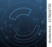 sci fi futuristic user... | Shutterstock .eps vector #1178626720