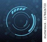 sci fi futuristic user... | Shutterstock .eps vector #1178626723