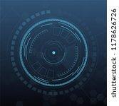 sci fi futuristic user... | Shutterstock .eps vector #1178626726