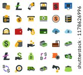 colored vector icon set  ... | Shutterstock .eps vector #1178626996