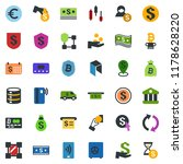 colored vector icon set   neo... | Shutterstock .eps vector #1178628220