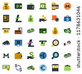 colored vector icon set  ... | Shutterstock .eps vector #1178631046
