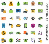 colored vector icon set  ... | Shutterstock .eps vector #1178631100