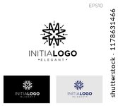 initial m geometric style logo... | Shutterstock .eps vector #1178631466