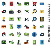 colored vector icon set  ... | Shutterstock .eps vector #1178633236
