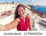 travel vacation tourist girl... | Shutterstock . vector #1178643226