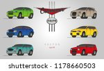stylized cars in vector....