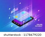 isometric illustrations design... | Shutterstock .eps vector #1178679220
