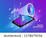 isometric illustrations design... | Shutterstock .eps vector #1178679256