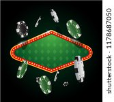gambling casino banner with... | Shutterstock .eps vector #1178687050