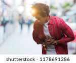 afro american man over isolated ... | Shutterstock . vector #1178691286