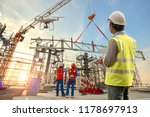 drone inspection. operator... | Shutterstock . vector #1178697913