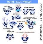 mental health problems banner....   Shutterstock .eps vector #1178700130