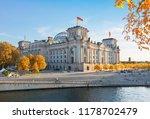 reichstag building  german...   Shutterstock . vector #1178702479