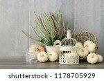 Autumn Floral Arrangement With...