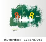 flyer template web and... | Shutterstock .eps vector #1178707063