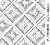 ikat seamless pattern. vector... | Shutterstock .eps vector #1178718316