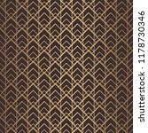 art deco pattern. seamless... | Shutterstock .eps vector #1178730346