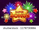 vector super bonus banner for...