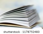 open book close up | Shutterstock . vector #1178752483