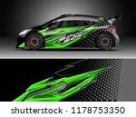 car decal wrap  truck and... | Shutterstock .eps vector #1178753350