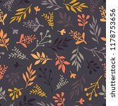 seamless vector pattern with... | Shutterstock .eps vector #1178753656
