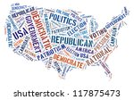 election info text graphics... | Shutterstock . vector #117875473