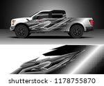 car decal wrap  truck and cargo ... | Shutterstock .eps vector #1178755870