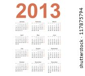 european 2013 year vector...