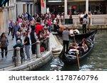 venice   italy   september 21 ... | Shutterstock . vector #1178760796