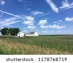 Indiana Farm With Green And...