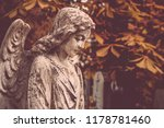Angel Statue On Old Cemetery....