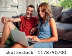 cropped shot of an attractive...   Shutterstock . vector #1178790700