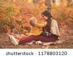 happy family mother and child... | Shutterstock . vector #1178803120
