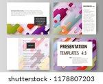 business templates for... | Shutterstock .eps vector #1178807203
