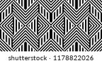 seamless pattern with striped... | Shutterstock .eps vector #1178822026